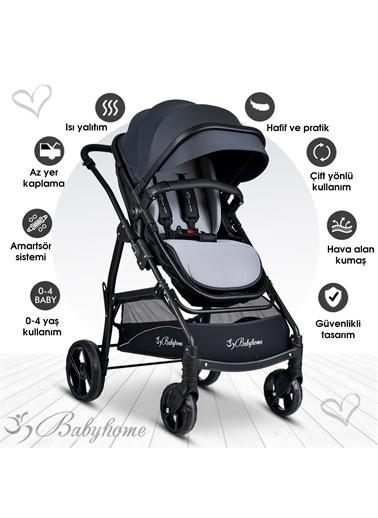 Baby Home Baby Home Bh-855 Mix  Travel Sistem Bebek Arabası Gri